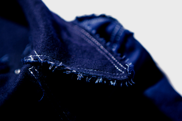 Image of COMME des GARCONS SHIRT Rugged Pea Coat