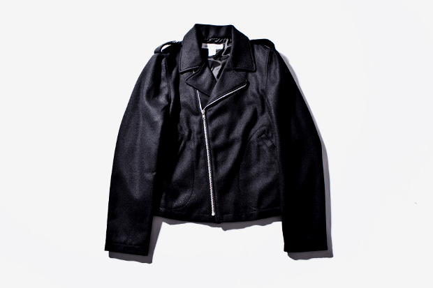 Image of COMME des GARCONS SHIRT Wool Biker Jacket