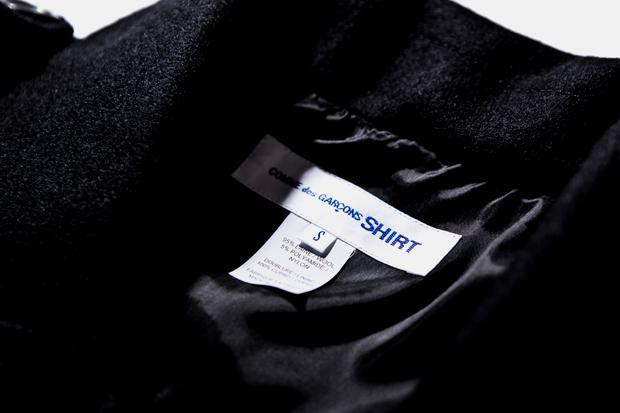 Image of COMME des GARCONS SHIRT Wool Biker Jacket