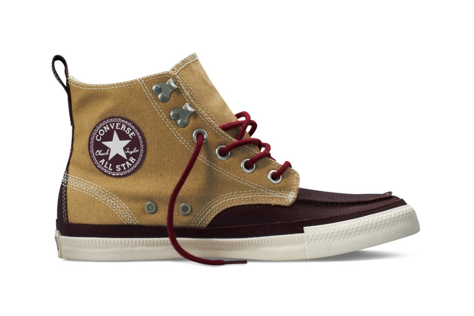 "Image of Converse 2011 Holiday Chuck Taylor All Star ""Coated Canvas"" Boot"