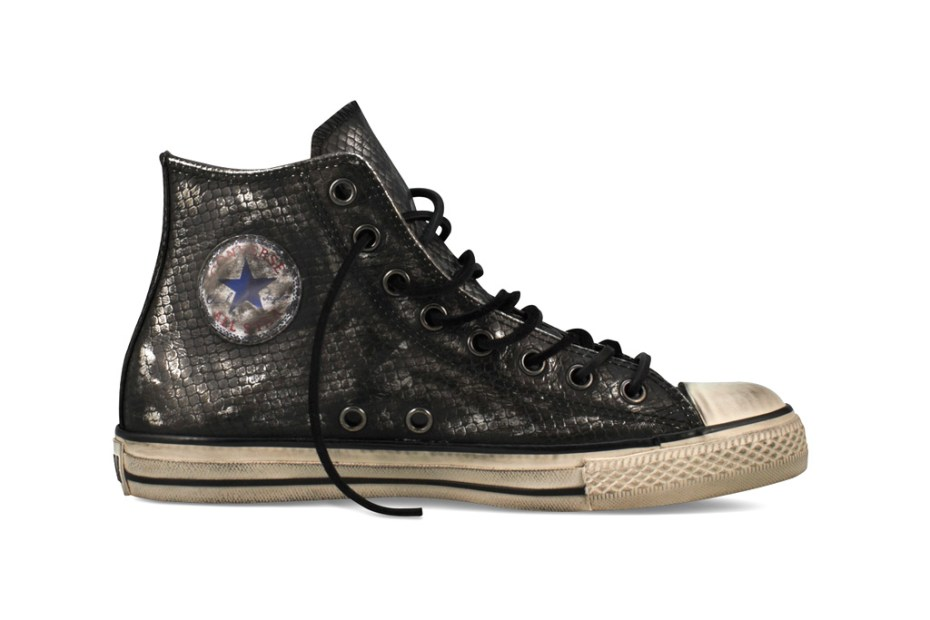 Image of Converse John Varvatos Snakeskin Leather Chuck Taylor All Star