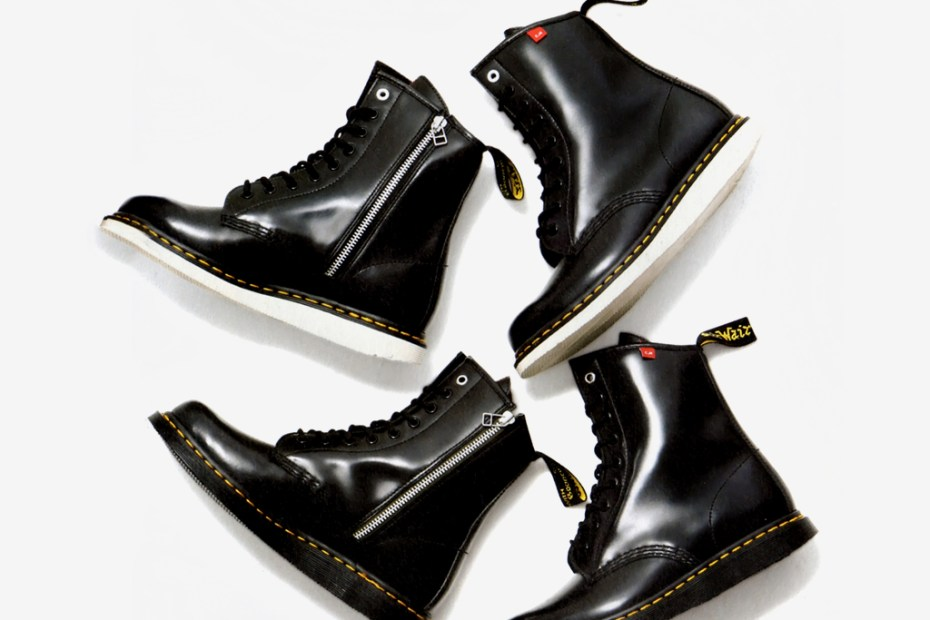 "Image of Dr. Martens x BEDWIN & THE HEARTBREAKERS ""Dr. KNOW"" Boot"