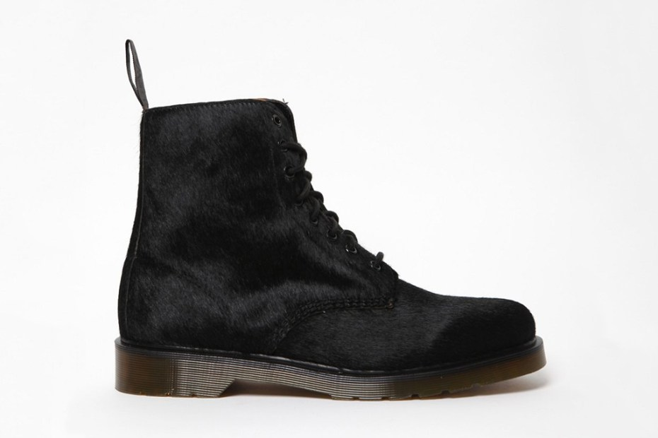 Image of Dr. Martens Hair On Horsey 8 Eye Pascal Boot