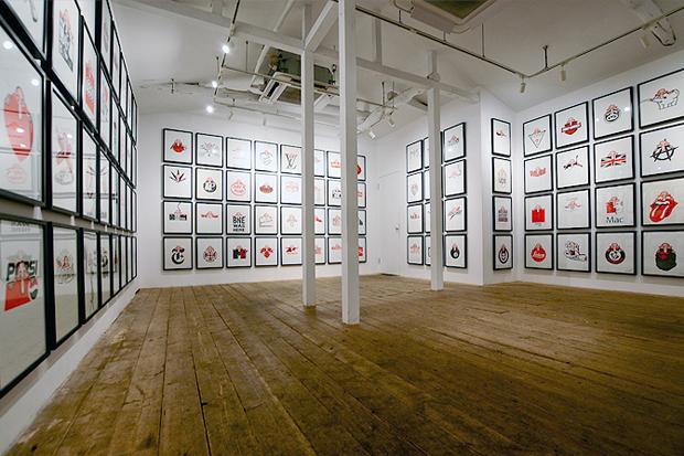 "Image of Eric Elms ""WISH YOU WERE HERE"" Exhibition @ COMMON Recap"