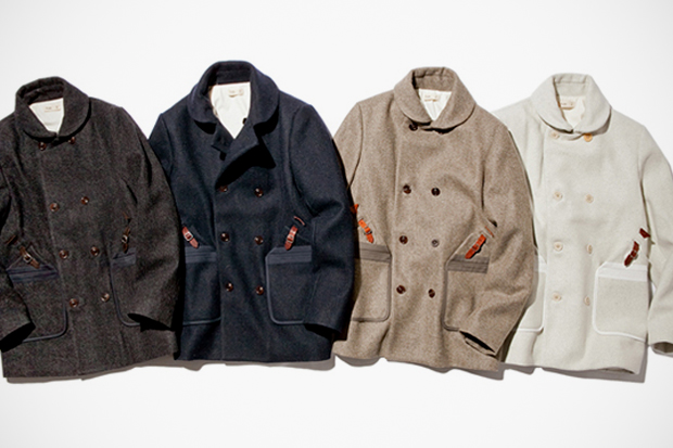 Image of Folk 2011 Fall/Winter Wool Overcoat