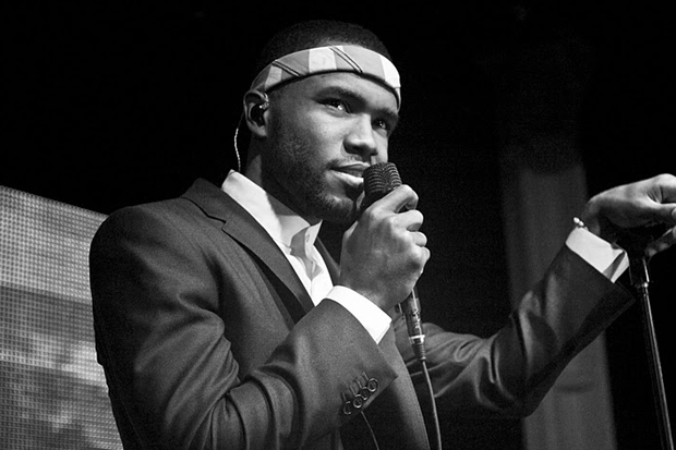 Image of Frank Ocean named GQ's Rookie of the Year