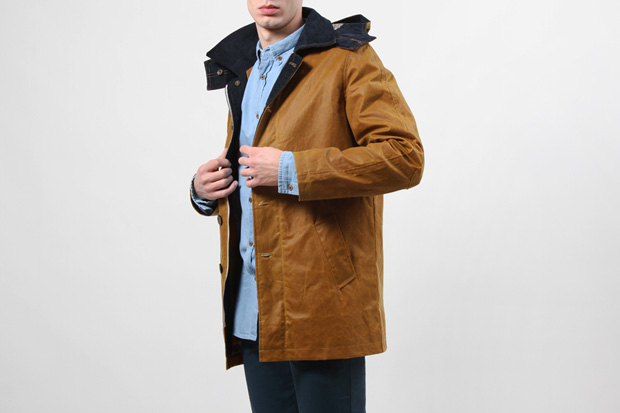 Image of Hixsept 2011 Fall/Winter Plural Waxed Jacket