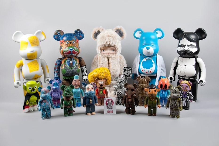 "Image of Icons ""Custom Toy Show"" Custom Bearbrick"