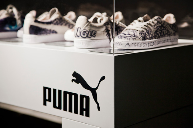 Image of Ink on Puma Suede Exhibition Roma Recap