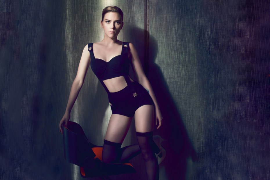 Image of Interview Magazine:  Scarlett Johansson Interview