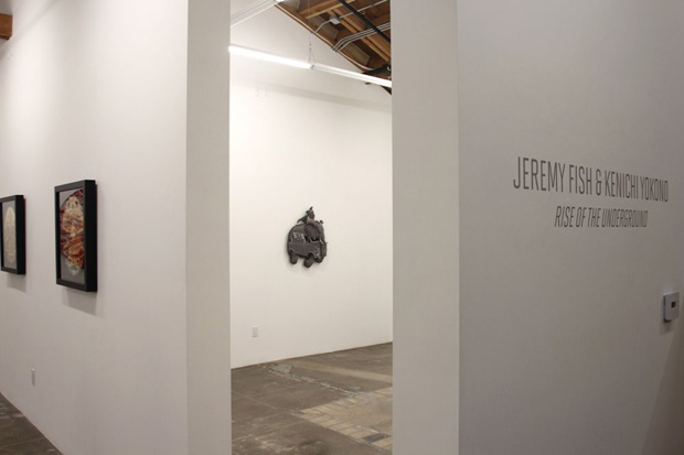 "Image of Jeremy Fish & Kenichi Yokono ""Rise of the Underground"" Exhibition @ Mark Moore Gallery"