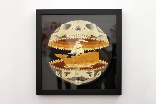 """Image of Jeremy Fish & Kenichi Yokono """"Rise of the Underground"""" Exhibition @ Mark Moore Gallery"""