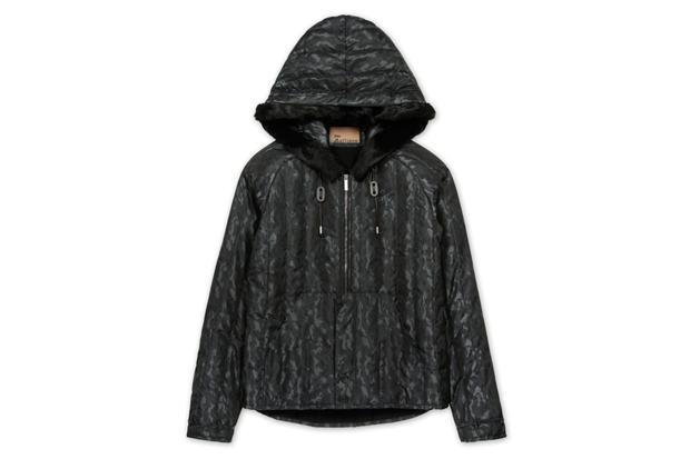 Image of John Galliano Nylon Zip-Up Parka