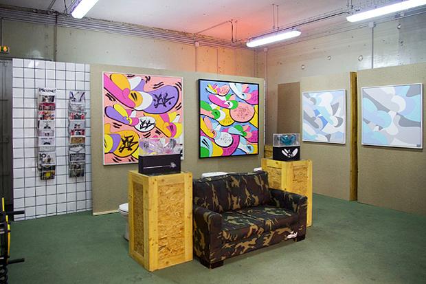 """Image of JonOne """"Throw-Up"""" Exhibition @ Blackrainbow Recap"""