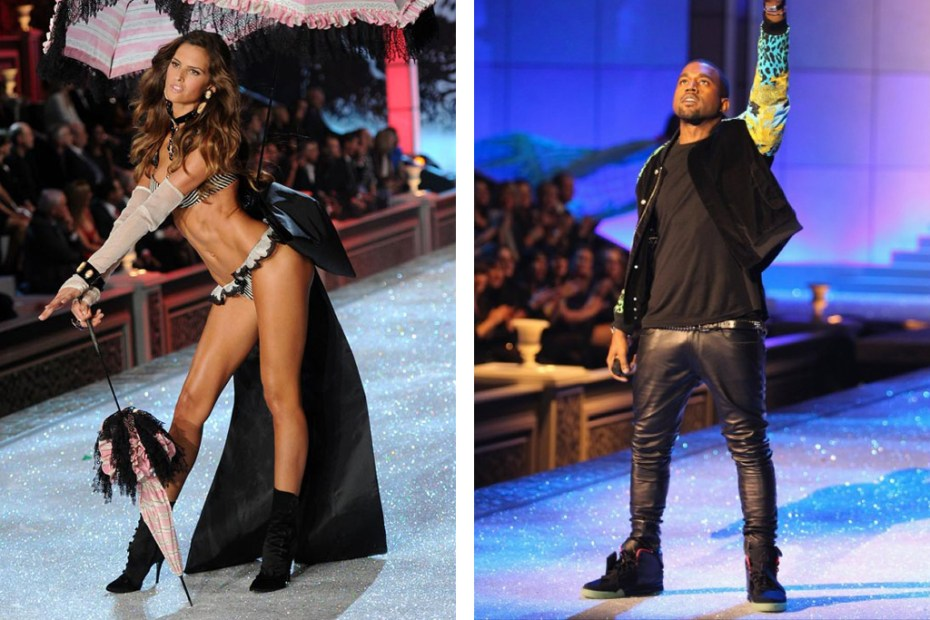 Image of Kanye West & Jay-Z Perform @ 2011 Victoria's Secret Fashion Show