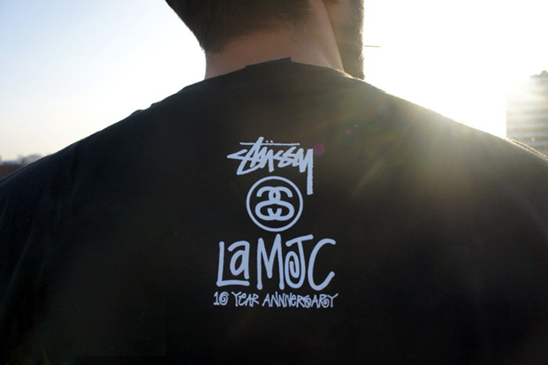 Image of La MJC x Stussy | Undefeated 10th Anniversary T-Shirts