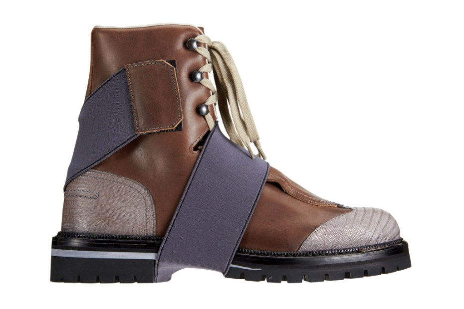 Image of Lanvin Tall Hiking Boot