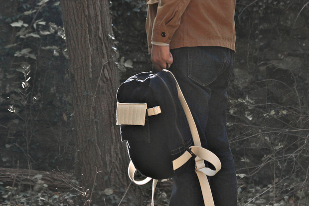 Image of Layerxlayer Fall Utility Tote | Waxed Canvas Backpack