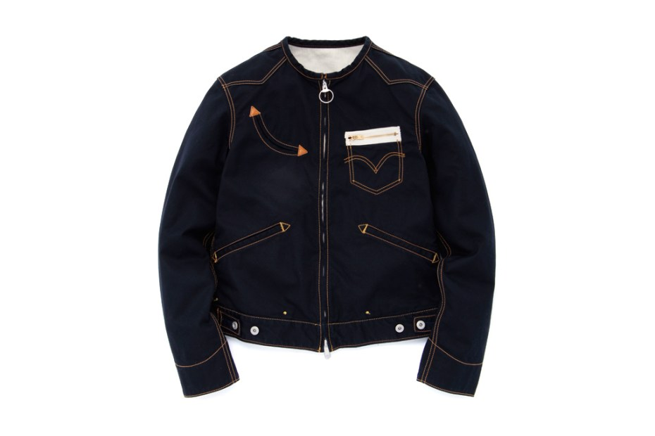 Image of Levi's Left handed Jean by Takahiro Kuraishi Round Neck Trucker Jacket
