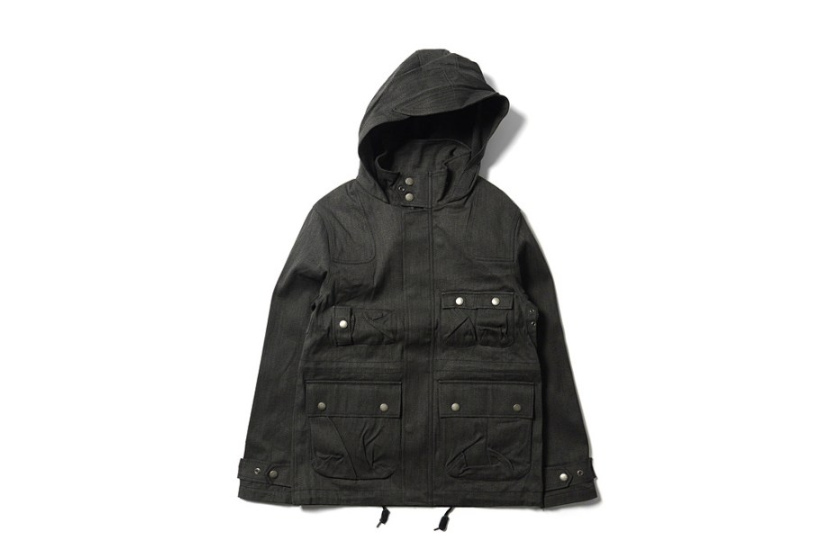 Image of Maiden Noir Hooded Flight Jacket
