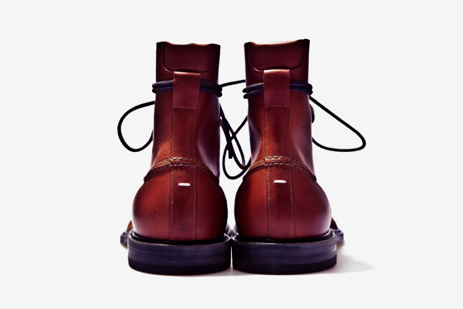Image of Maison Martin Margiela 2011 Fall/Winter Two-Toned Leather Boot