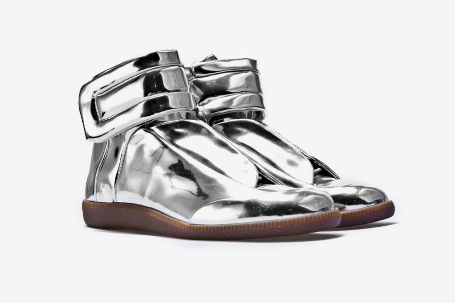 "Image of Maison Martin Margiela Sci-Fi Sneaker ""Metallic"""