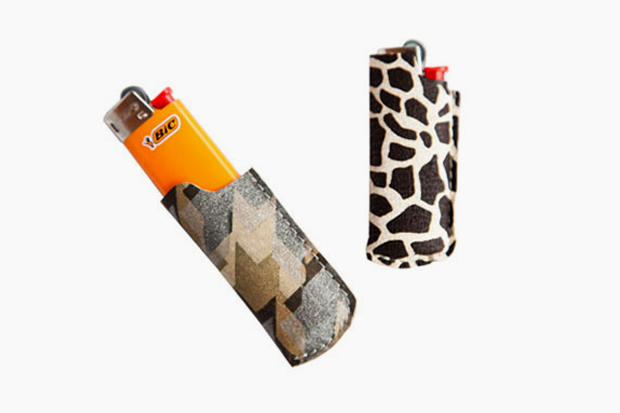 Image of Matt Singer Printed Leather Lighter Covers