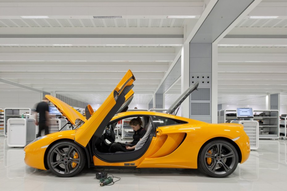 Image of McLaren Production Centre
