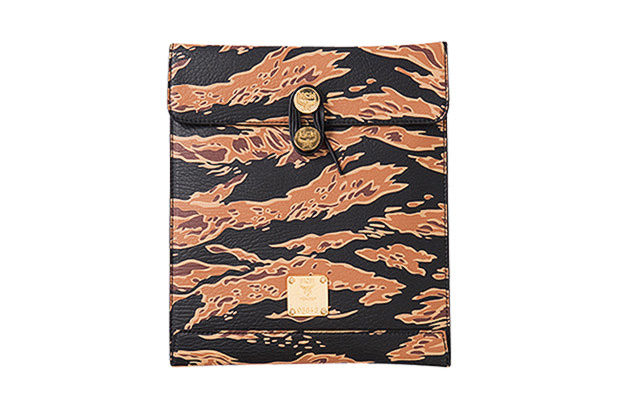 Image of MCM by PHENOMENON Tiger Camo iPad Case