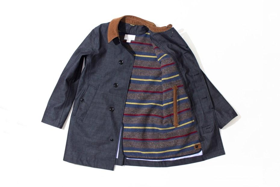 Image of nanamica GORE-TEX Soutien Collar Coat