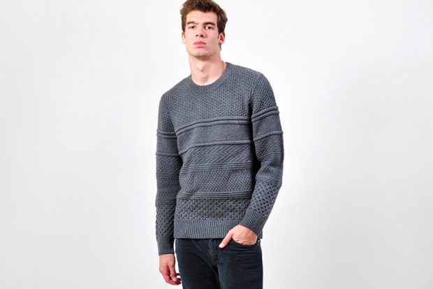 Image of Neil Barrett Heavy Knit Sweater
