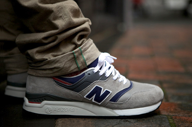 Image of New Balance CM997HWB Grey/Navy