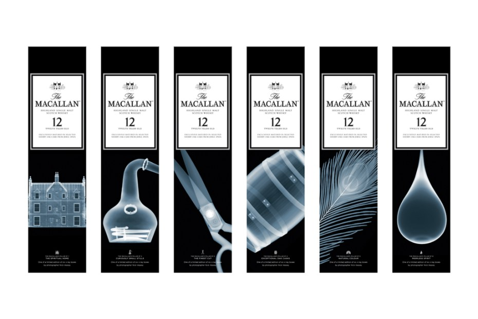 Image of Nick Veasey x The Macallan Sherry Oak 12 Years Old Limited Edition Series