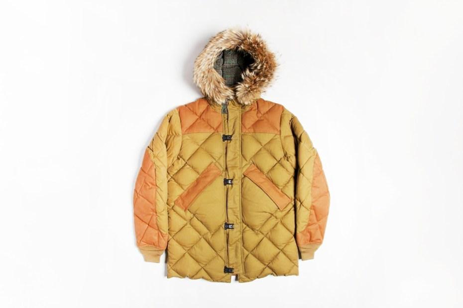 Image of Nigel Cabourn x Eddie Bauer Khaki Geddes Clip Jacket