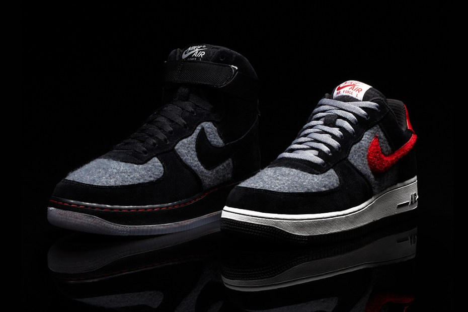 Image of Nike iD Air Force 1 Limited Edition Wool Option