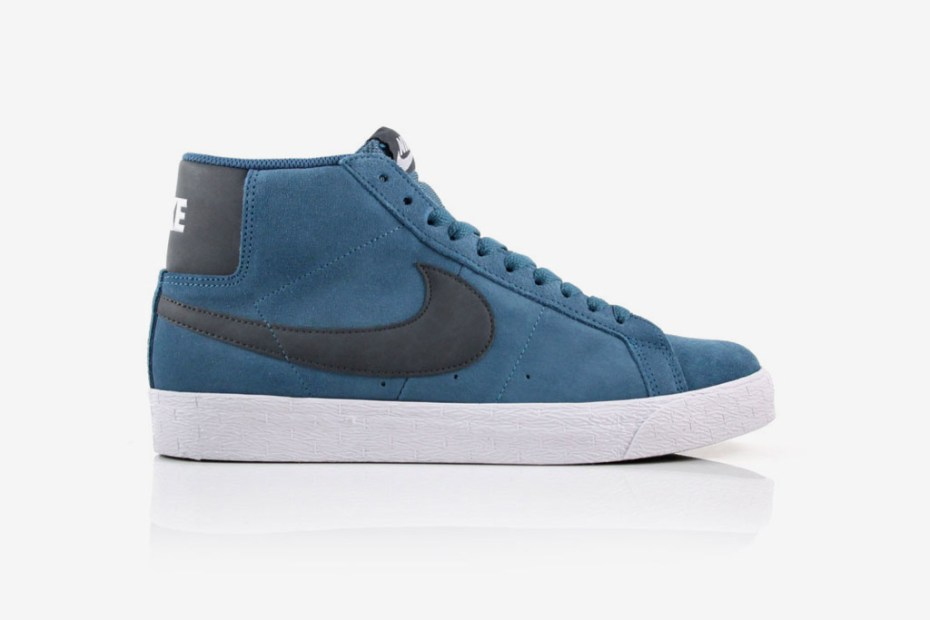 "Image of Nike SB Blazer High ""Rift Blue"""