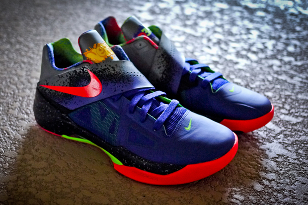 "Image of Nike Zoom KD IV ""Nerf"" Further Look"