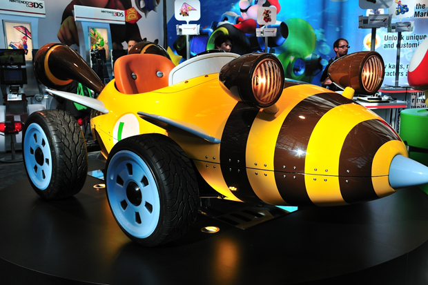 Image of Nintendo x West Coast Customs Life-Size Mario Karts @ LA Auto Show