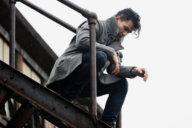 Image of Outlier Liberated Wool Pea Coat