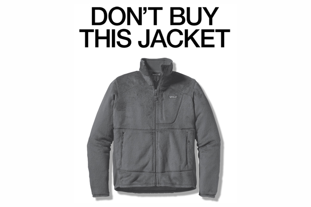 """Image of Patagonia Black Friday """"Don't Buy This Jacket"""" Advertisement"""