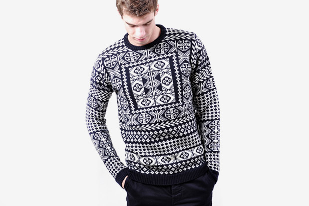 Image of Raf Simons Fair Isle Crewneck Knit