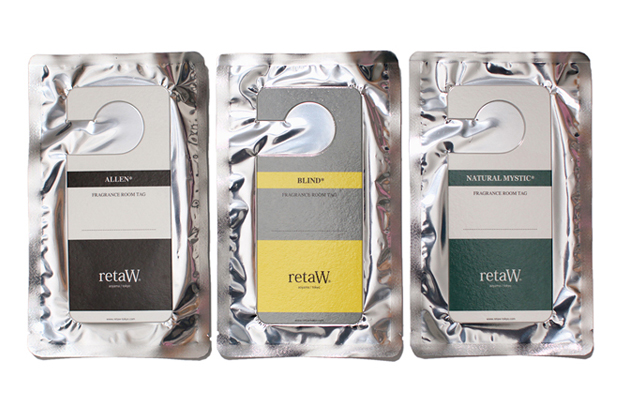 Image of retaW Fragrance Room Tag