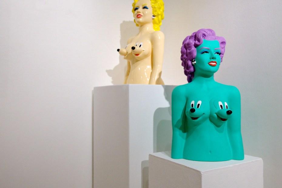 "Image of Ron English ""Seasons In Supurbia"" Exhibition @ Corey Helford Gallery Recap"