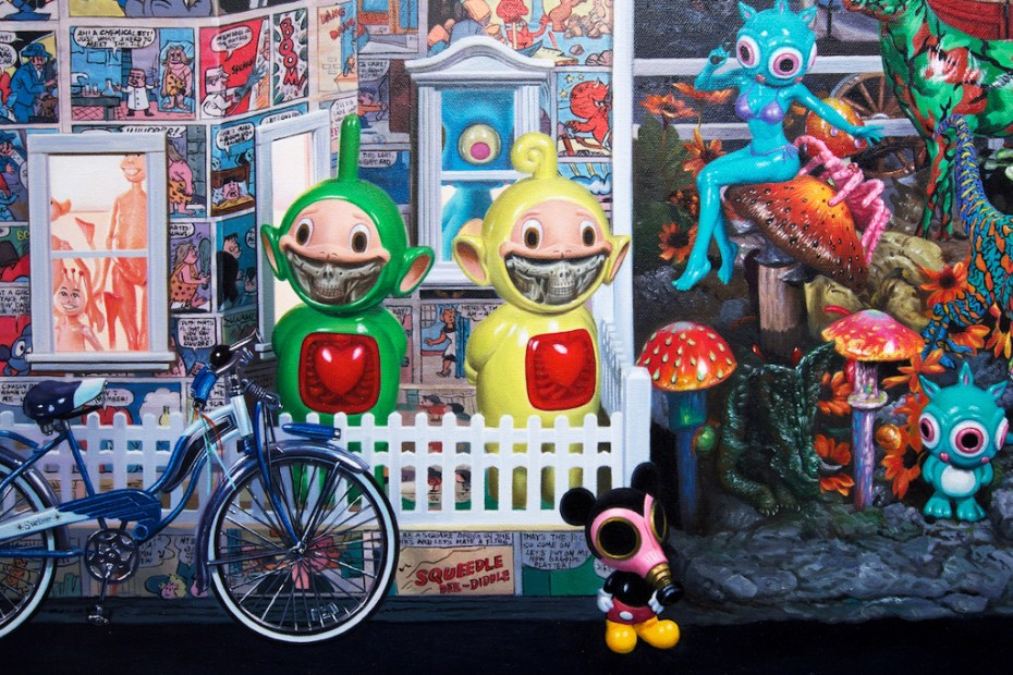 "Image of Ron English ""Seasons In Supurbia"" Exhibition @ Corey Helford Gallery Recap"