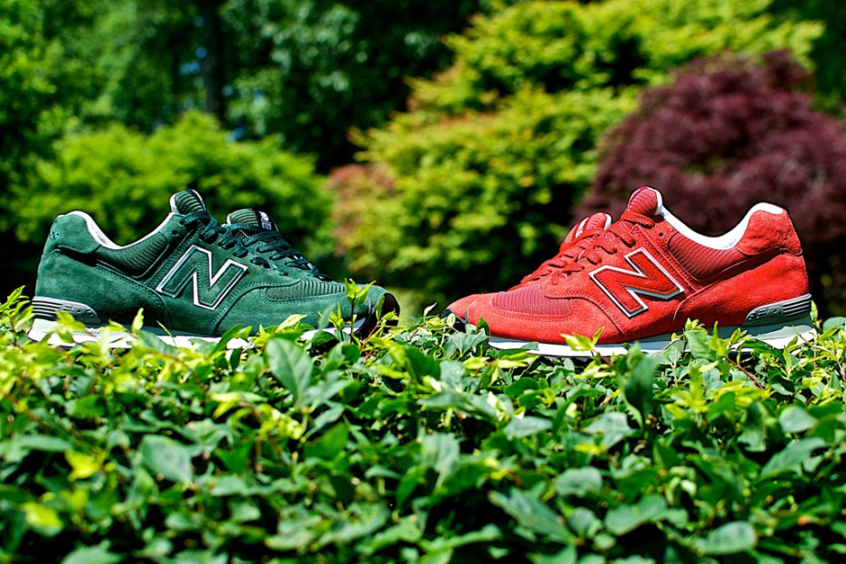 Image of Ronnie Fieg x New Balance 574 Made in USA Collection