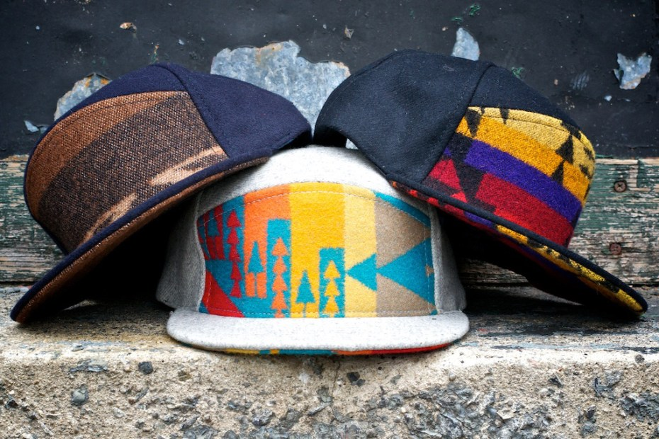 Image of Ronnie Fieg for Quintin Pendleton 6-Panel Snapbacks
