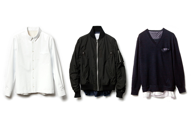 Image of sacai x fragment design Capsule Collection