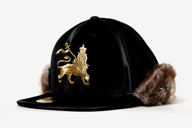 Image of SASQUATCHfabrix. x New Era Rabbit Fur Ninja Fitted Cap