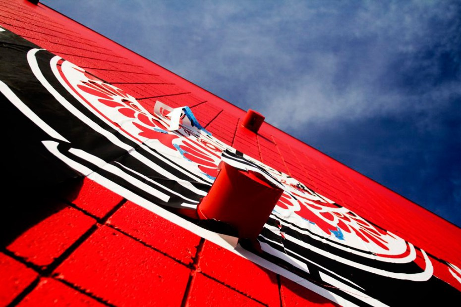 Image of Shepard Fairey Mural @ District La Brea
