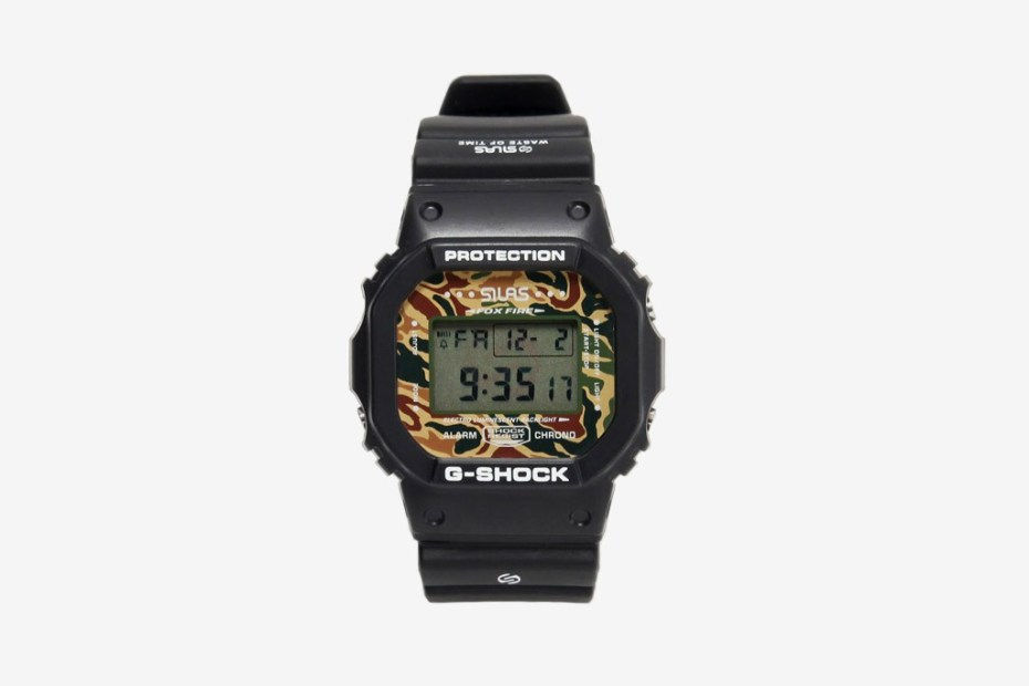 Image of Silas x Casio G-Shock DW-5600 Watch